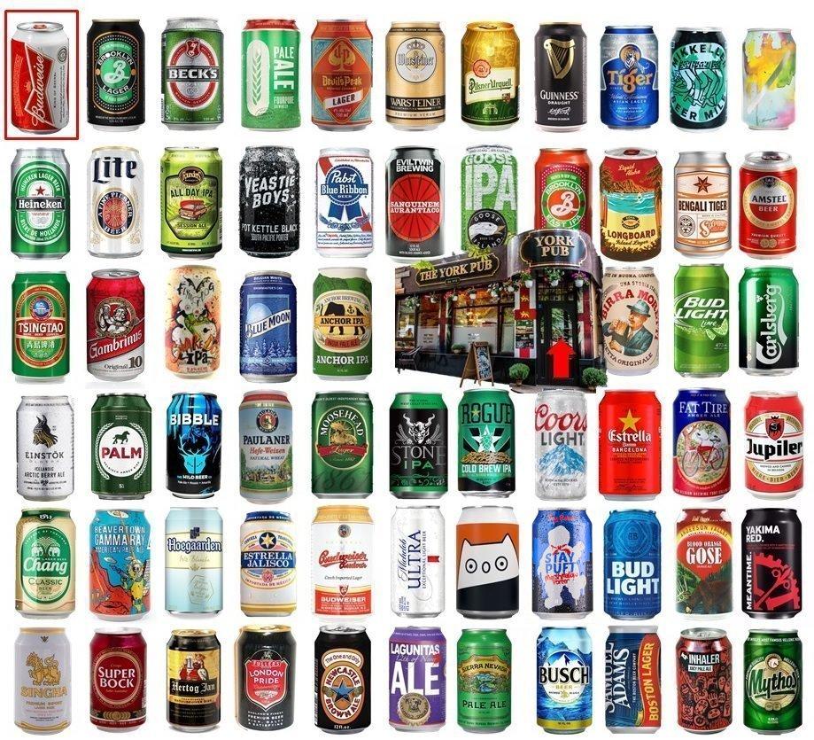 Pub Crawl: Pick the US Beers Quiz