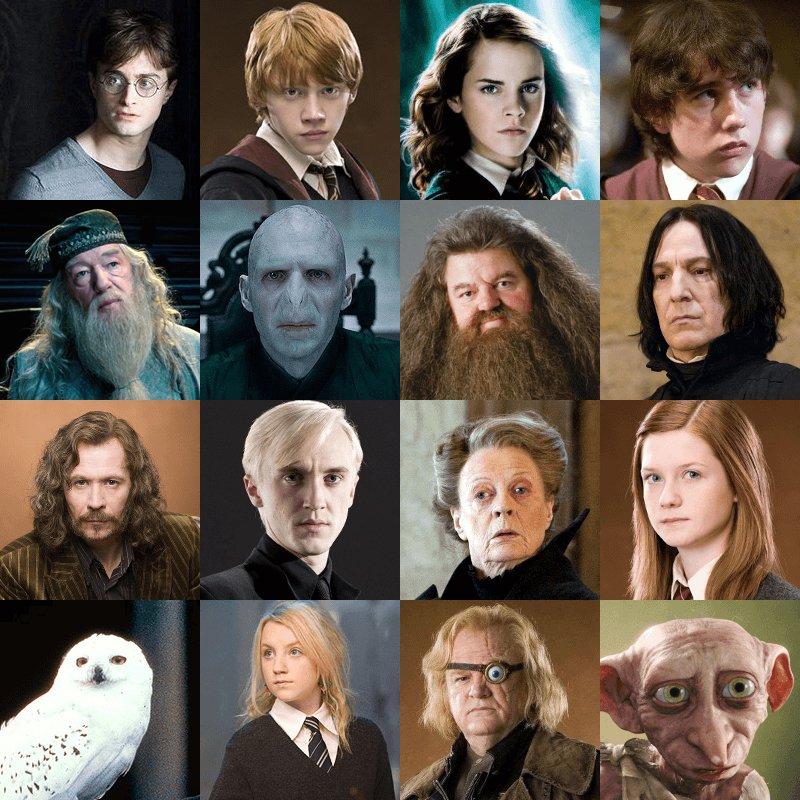 Harry Potter Character Blitz Quiz