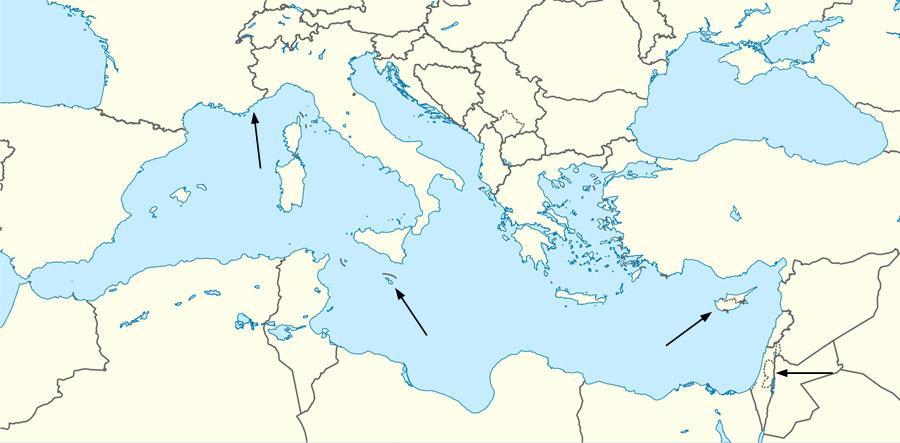 Find the Mediterranean Countries Quiz