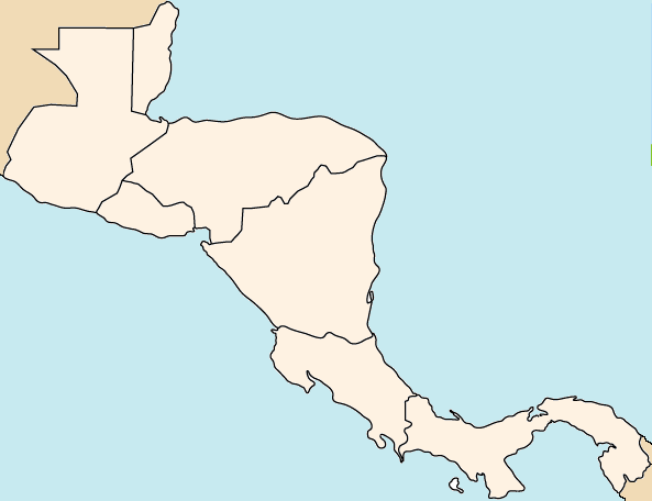 Find the Countries of Central America Quiz