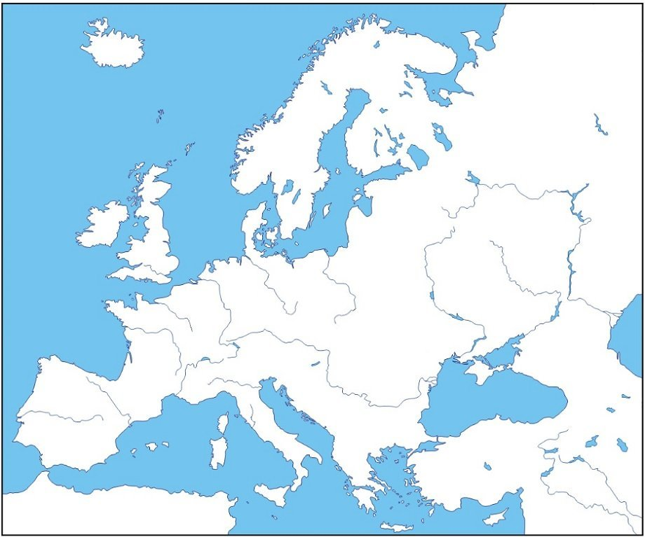 Find the Rivers (Europe) Quiz