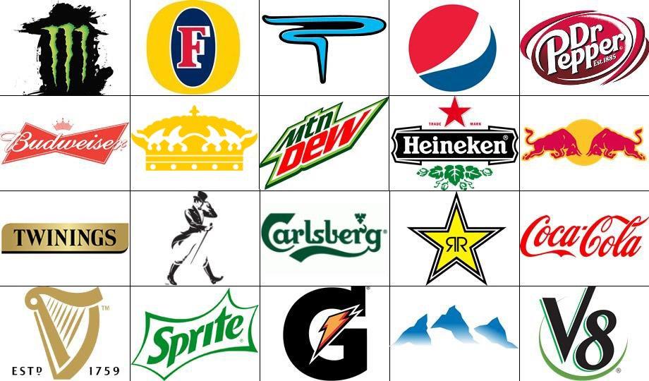 beverages drinks quiz slogan match logos quizzes ac