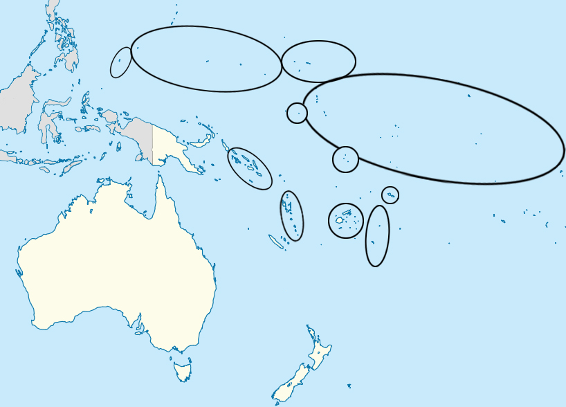 Find the Countries of Oceania Quiz