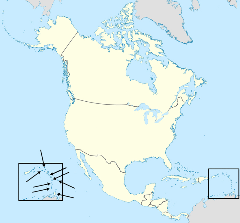 Find the Countries of North America Quiz