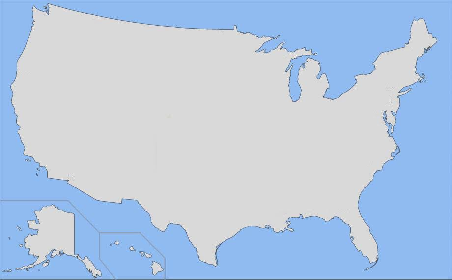 Find the US States Ultimate Minefield Quiz - By mhershfield