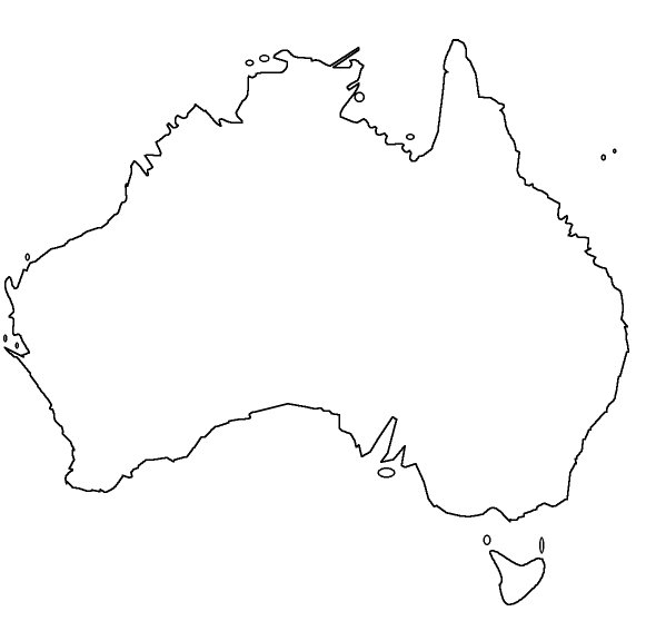 Find the States of Australia - No Outlines Minefield Quiz ...