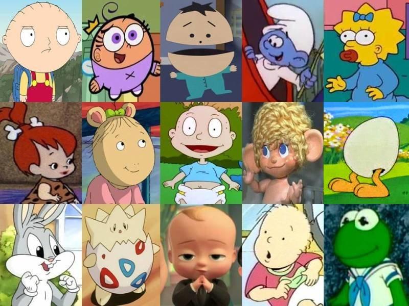Click The Cartoon Baby Quiz