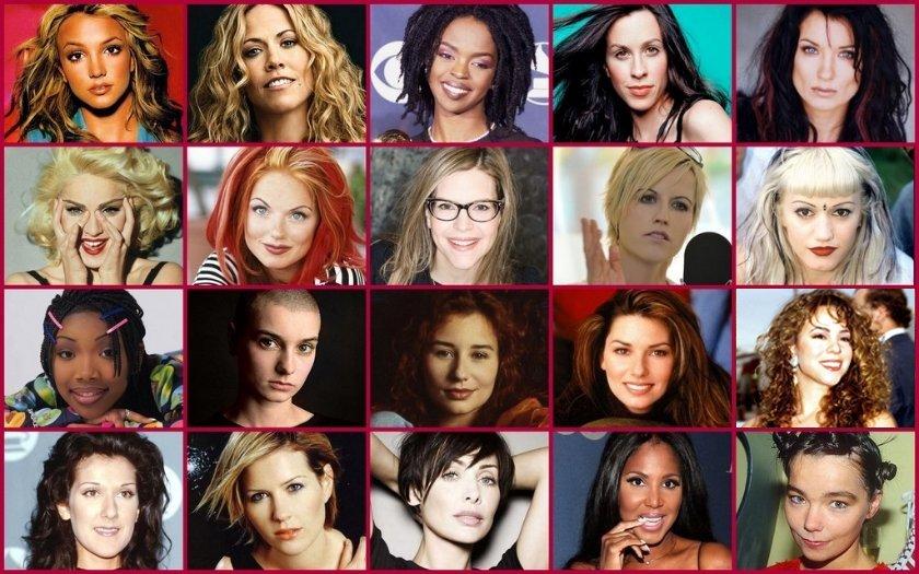 Female Singers: 1990s Quiz