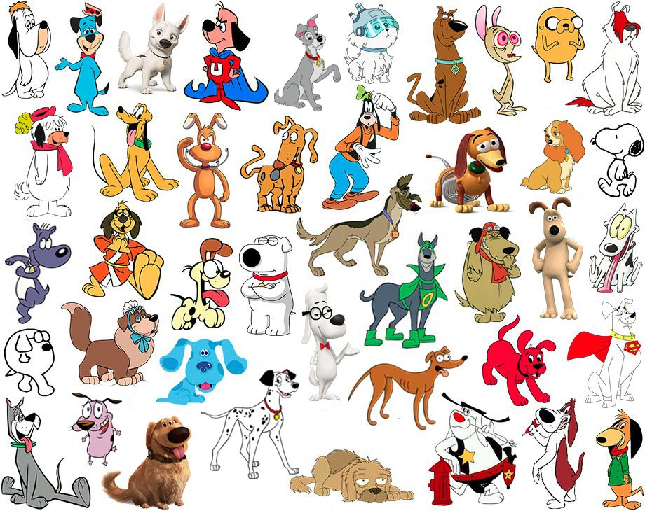 Find the Cartoon Dogs Quiz