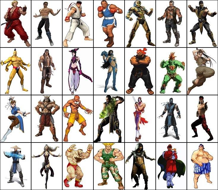 Mortal Kombat vs  Street Fighter Quiz