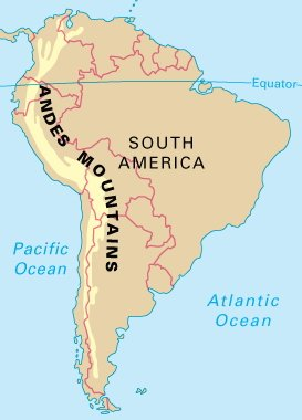 Click the Andes Countries Quiz