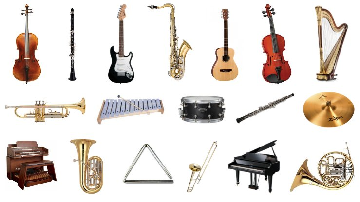 List of Instruments