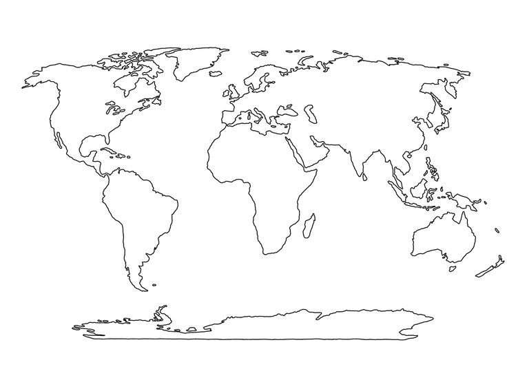 Continents and Oceans Minefield Quiz