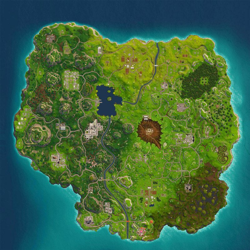 Fortnite Battle Royale Map Season 4 Quiz