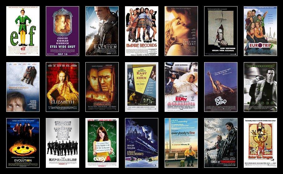 Hide Your 'E' Movies Quiz