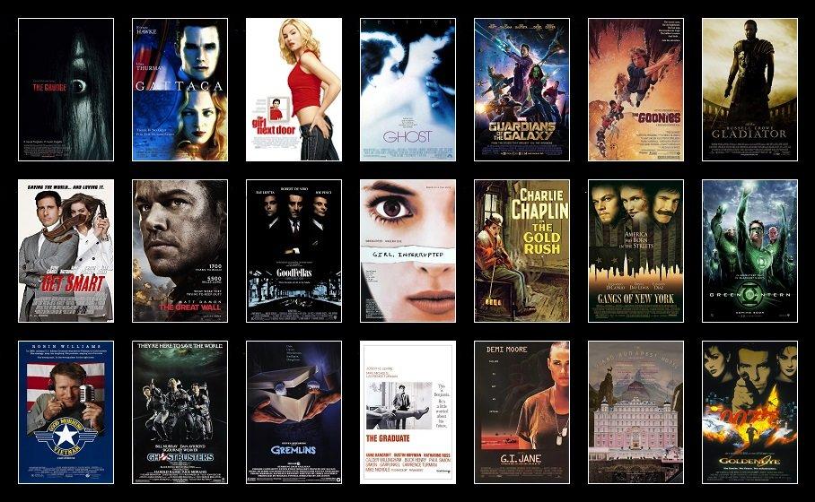 Hide Your 'G' Movies Quiz