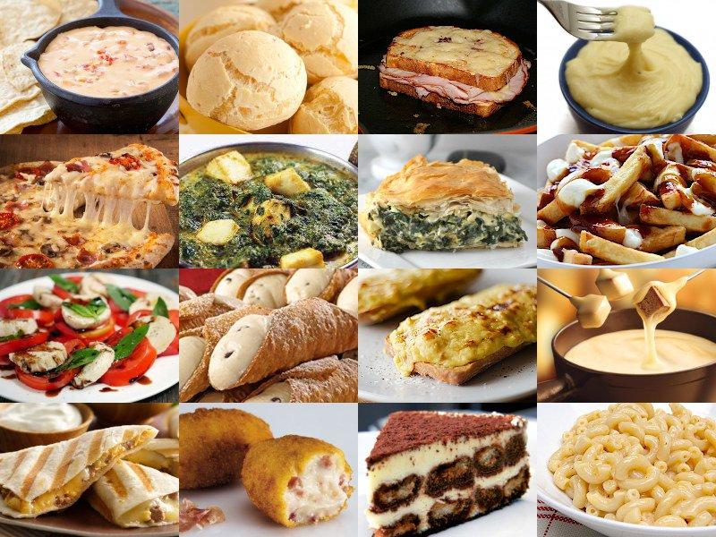 Pick a Cheese Dish Quiz