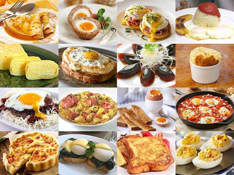 Pick an Egg Dish Quiz