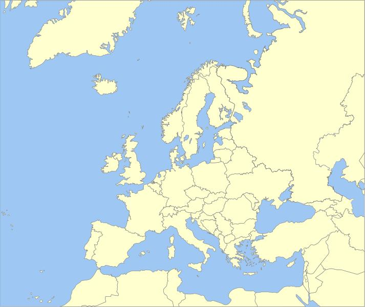 Click the Time Zone: Europe Quiz