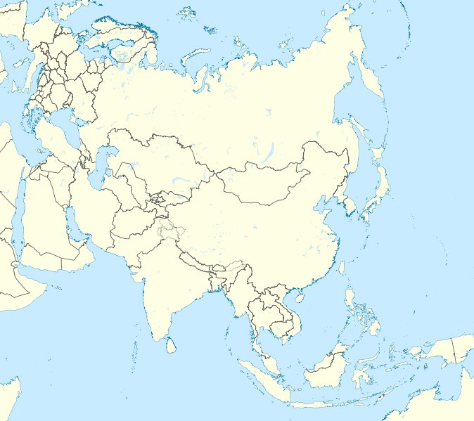Map Of Asia Time Zones.Click The Time Zone Asia Quiz