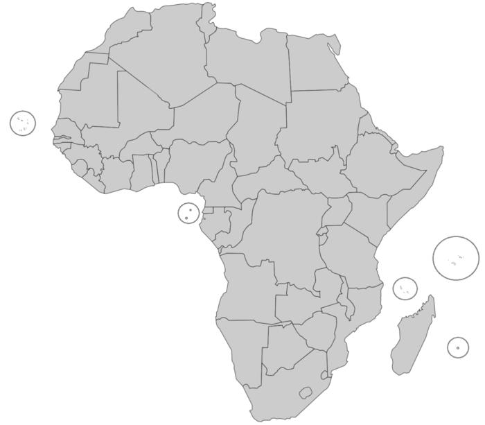 English-Speaking African Countries Map Quiz