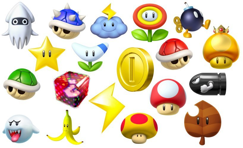 Find The Mario Kart Items Quiz