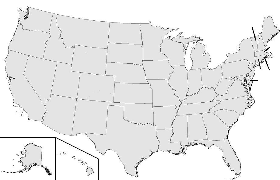 US States with National Parks Quiz