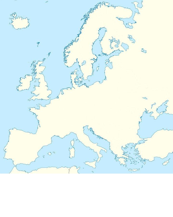 Let\'s Draw the European Borders Quiz