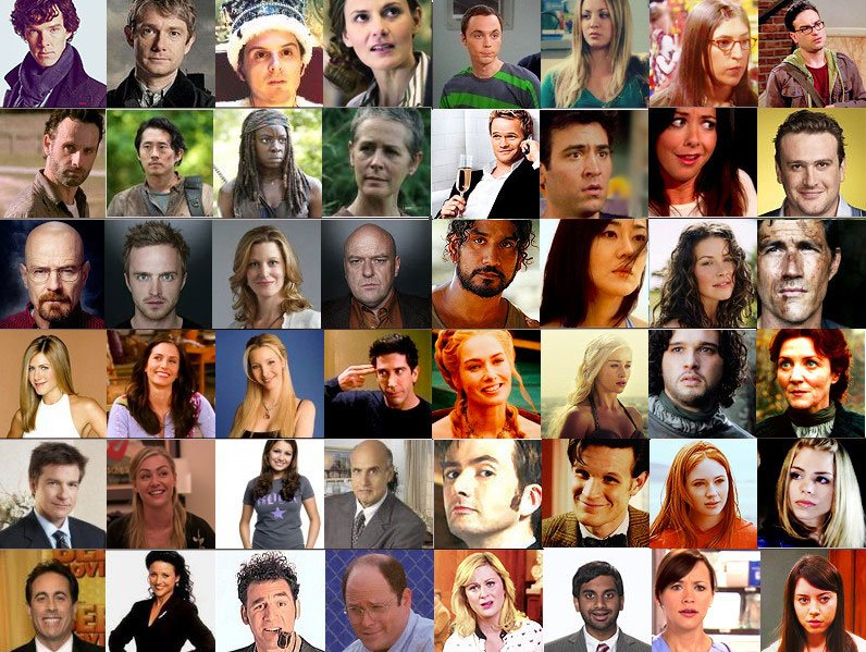 TV Shows by 4 Characters Quiz