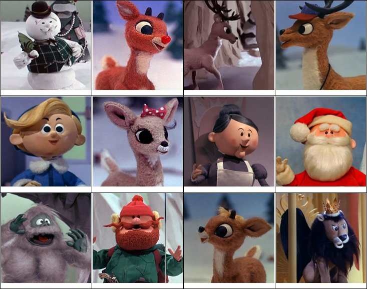 Rudolph Christmas Movie Characters.Rudolph The Red Nosed Reindeer Characters Quiz