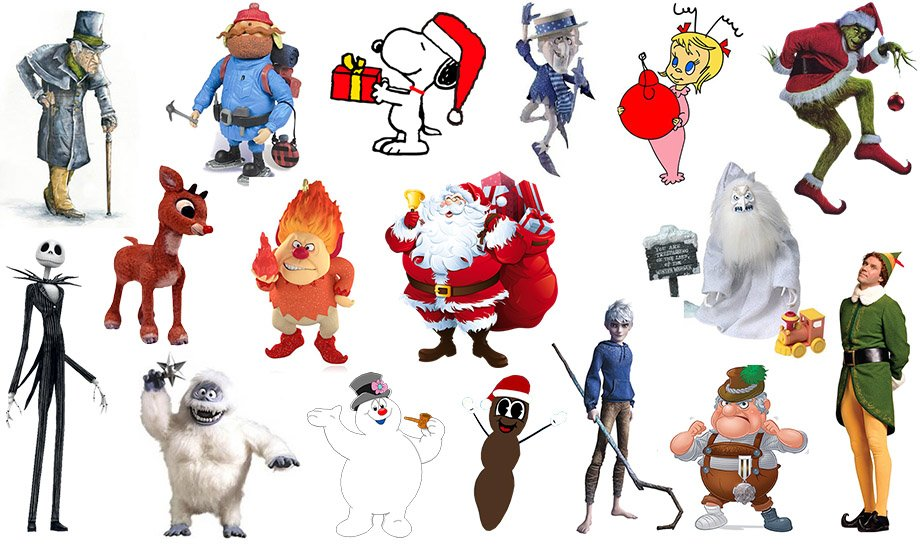 Click the Jumbled Christmas Characters Quiz