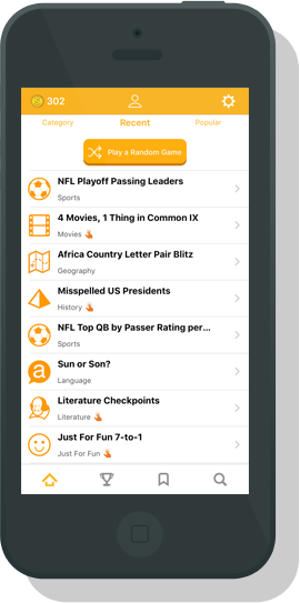 Apps from Sporcle