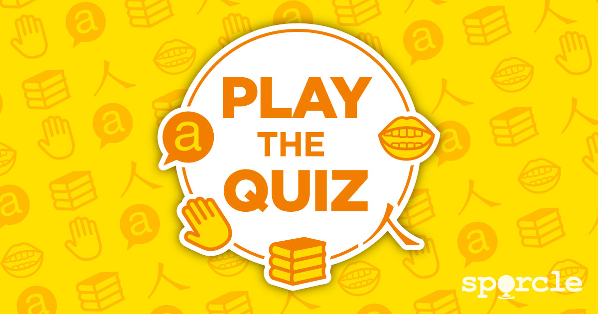 Spanish Quizzes and Games